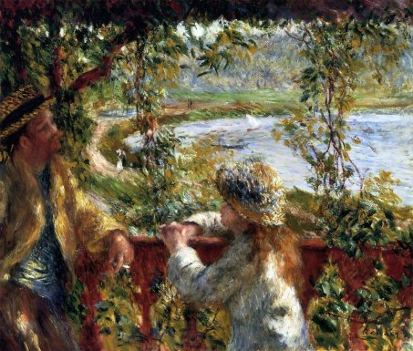 By the Water (1879-80), Pierre Auguste Renoir