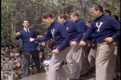 """Rah rah Yale rraaaHHHH OUCH MY SCIATICA!"""