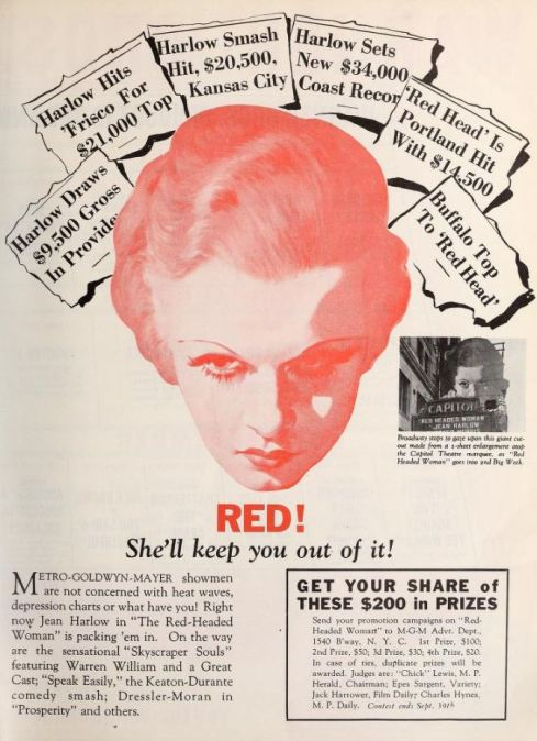 Motion Picture Herald, 1932